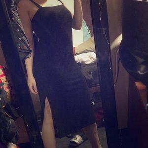 Forever21 body-con dress with side splits